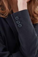 VARENCIA NAVY CHECK Veste de tailleur ajustée, NAVY CHECK, large