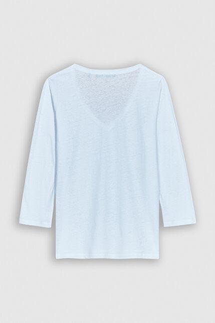 TAMARA Tee-shirt en lin et coton