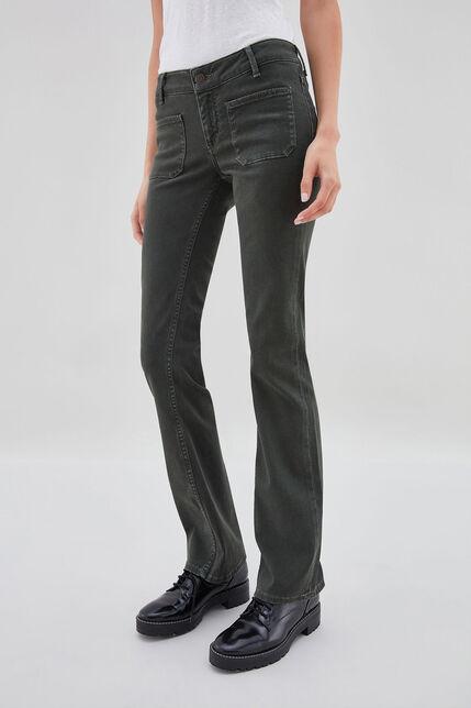 PERLA BOOT CUT Jean bootcut, EVERGREEN, large