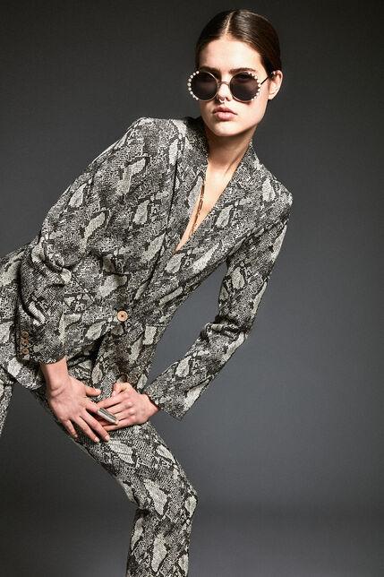 Veste de tailleur ajustée - Varencia Snake