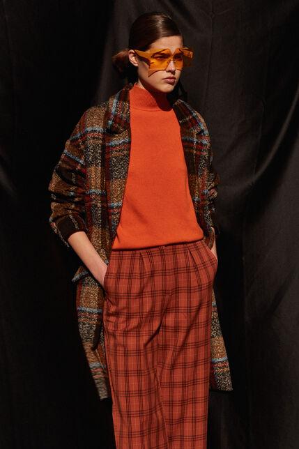 Manteau aoversize à carreaux - Madie Checks