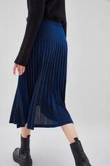 JULIETTE Jupe glitter plissée, ELECTRIC BLUE, large