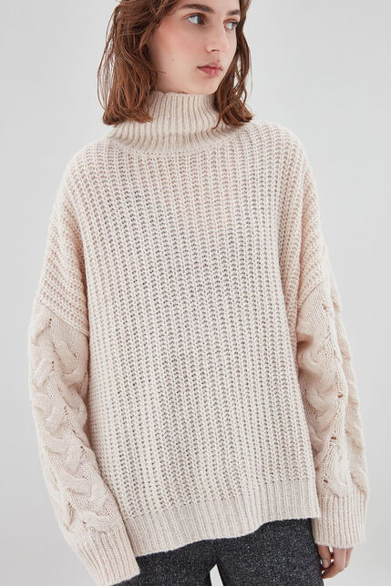 PIA Pull oversize, BEIGE, large