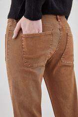 PERLA LACE Jean bootcut, TABAC, large