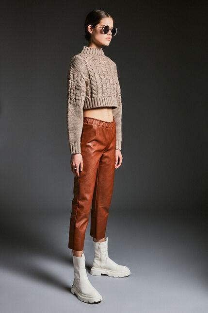 Pantalon droit similicuir  - Paris Dundee