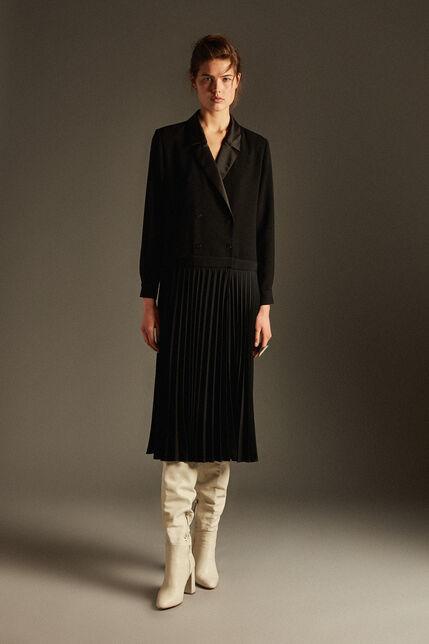 Robe tailleur plissée  - Rosemay