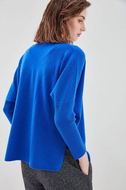 P-AMAYA Pull en laine et cashmere oversize