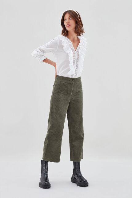 PACHA VELVET Pantalon en velours côtelé