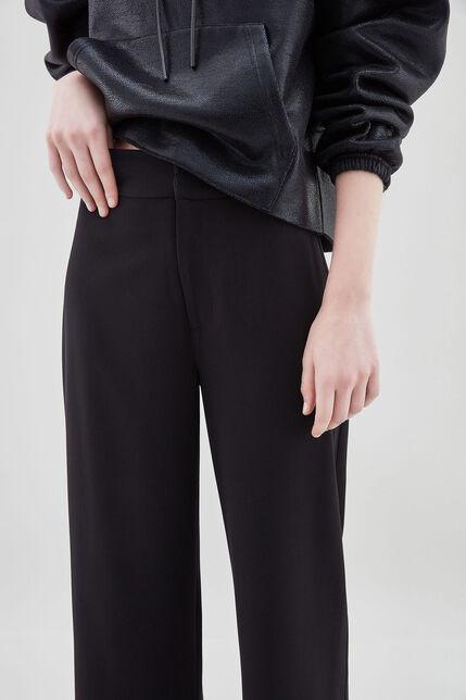 PACHA Pantalon large, NOIR, large