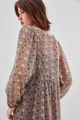RYOMA  Robe large froncée à la taille, VORTEX, large