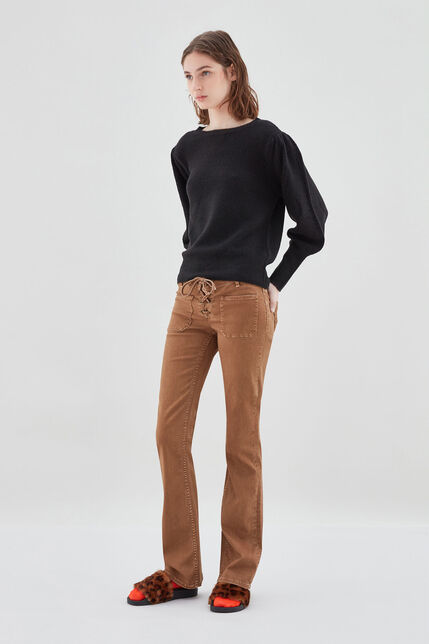 PERLA LACE Jean bootcut